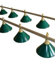 Светильники на двенадцать плафонов для бильярда