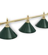 Светильники на три плафона для бильярда