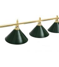Светильники на пять плафонов для бильярда