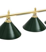 Светильники на шесть плафонов для бильярда